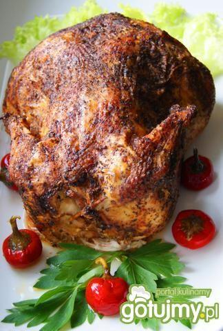 Kurczak faszerowany w majeranku