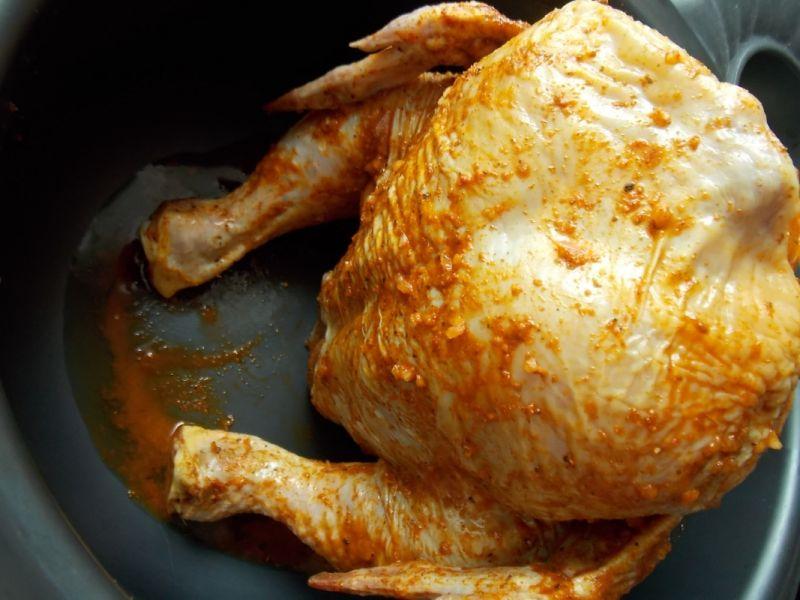Kurczak pieczony na piwie