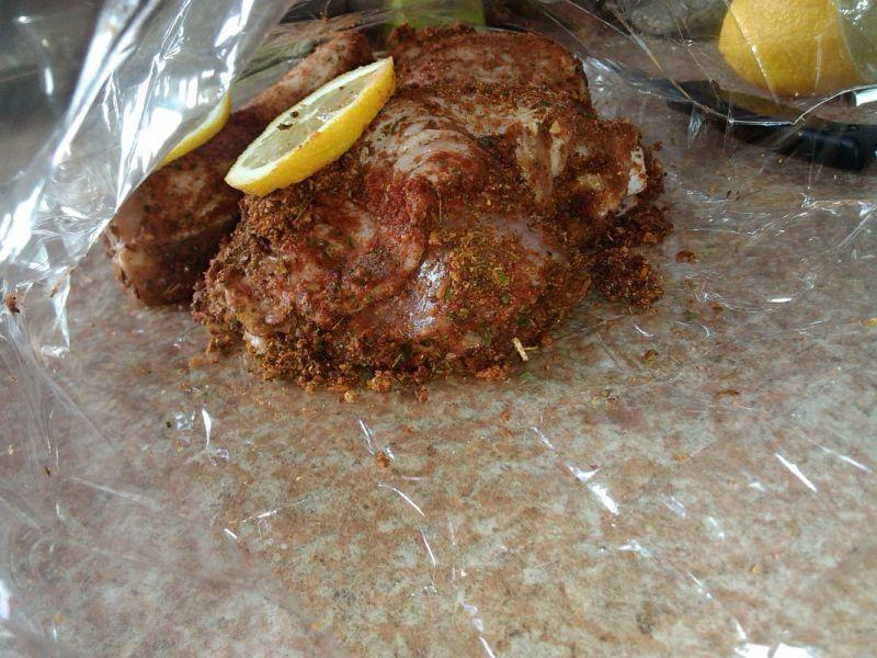 Kurczak pieczony z nutą cytryny