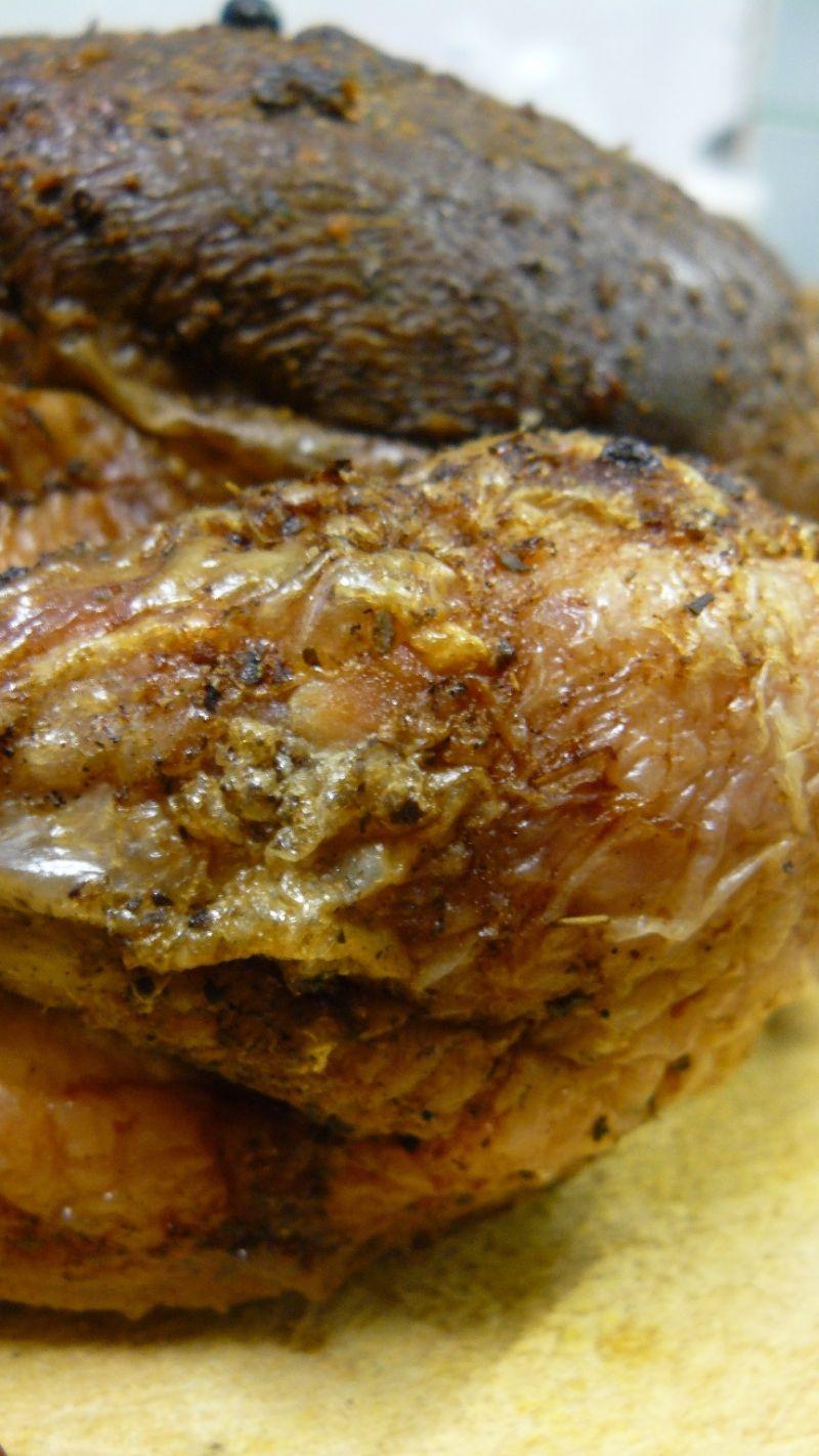Kurczak po polsku z wiśniowym akcentem