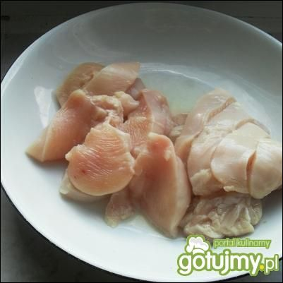 Kurczak w sezamie po chińsku