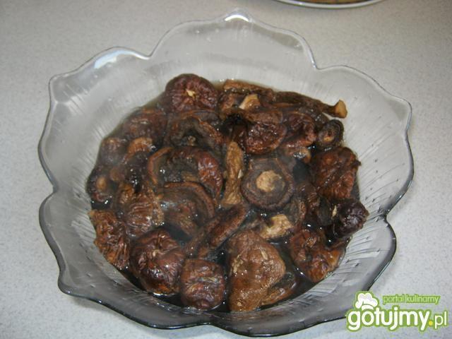 Kurczak w sosie grzybowo-musztardowym