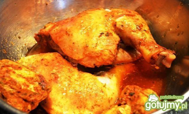 Kurczak z imbirem i czosnkiem