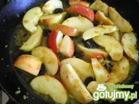 Kurczak z jabłkami