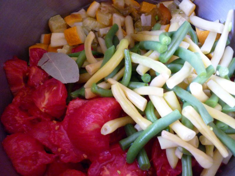 Leczo z fasolką szparagową