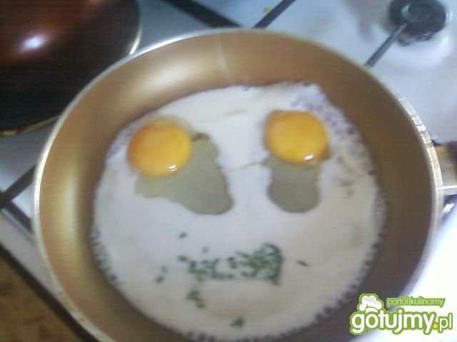Lekka jajecznica.