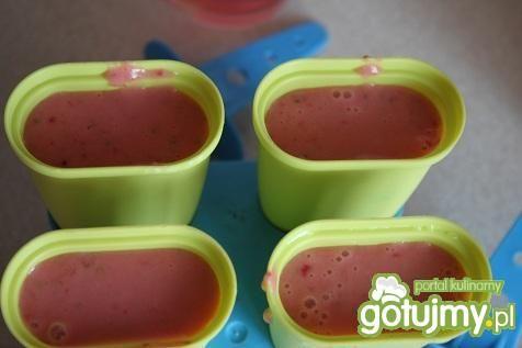Lody truskawkowo arbuzowe