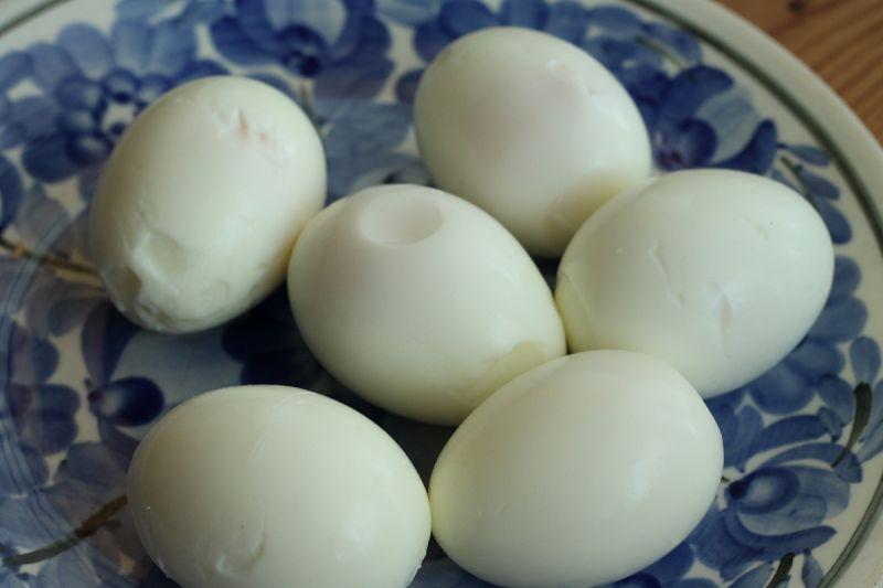 Łososiowe jajka wiosenne