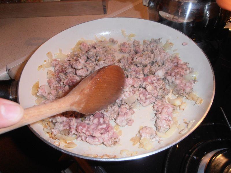 Mafaldine a'la bolognese z brokułem
