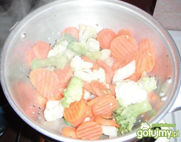 Makaron z warzywami wg maagda23