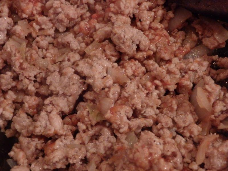 Makaronowe muszle z mięsem mielonym