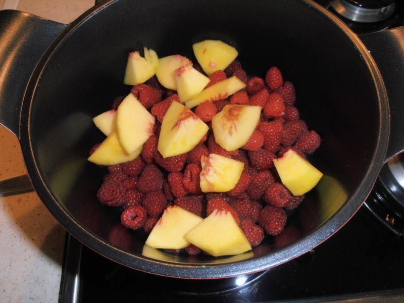 Malinowa-brzoskwiniowa słodycz