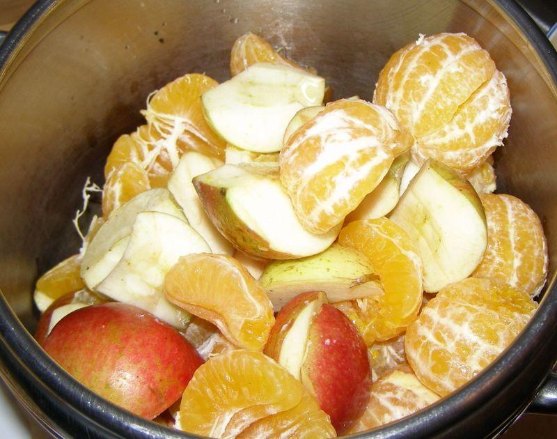 Mandarynkowo-jabłkowy domowy dżem