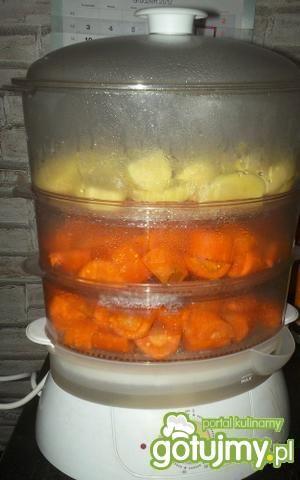 Marchewka z ziemniakiem, 16 słoiczków