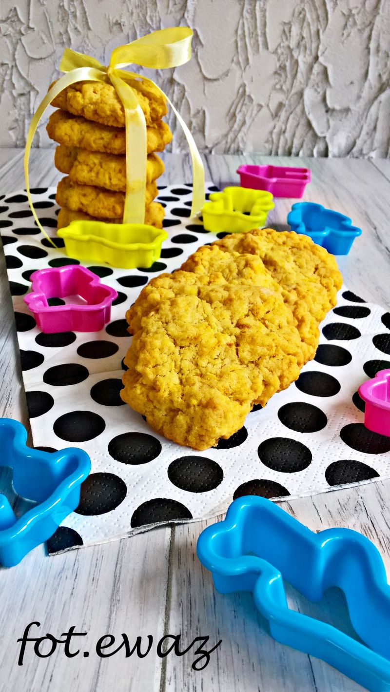 Marchewkowe ciasteczka