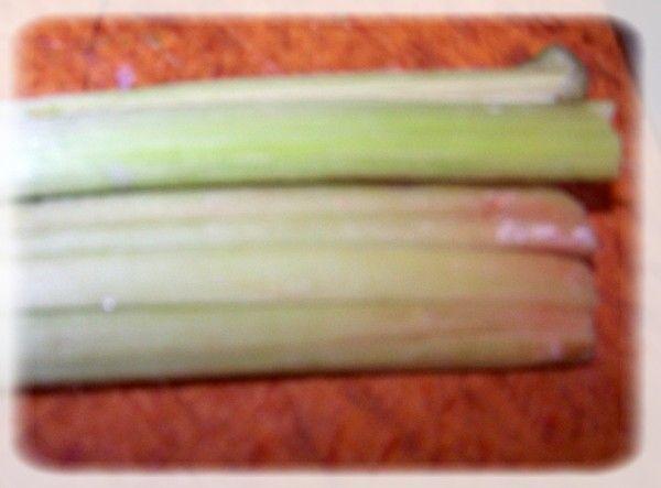 Marmolada truskawkowo-rabarbarowa