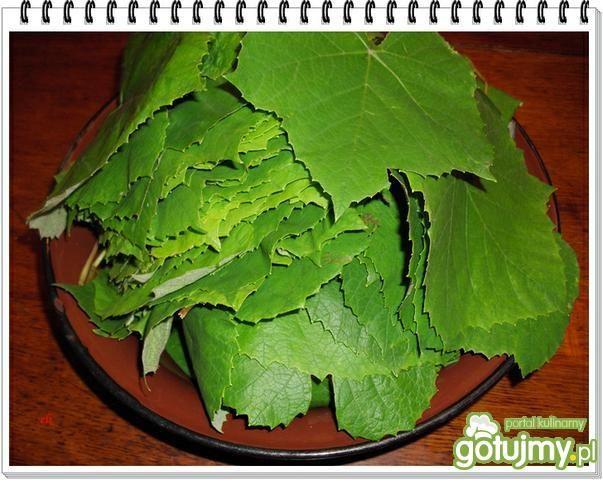 Marynowane liście winogron Eli