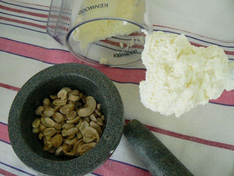 Masło orzechowe słone