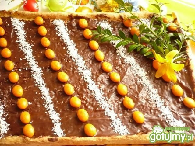 Mazurek kokosowo-czekoladowy