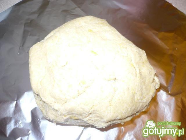 Mazurek kokosowy z nutką pomarańczy