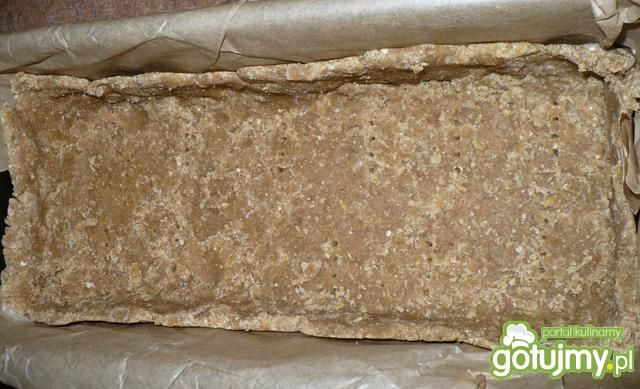 Mazurek z fasolą