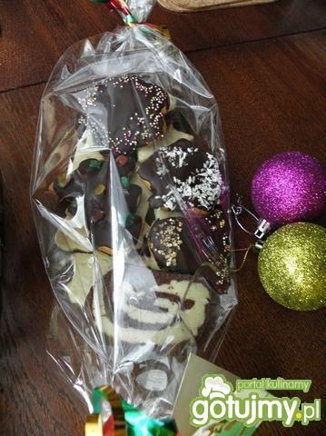 Mięciutkie pierniczki z czekoladzie.