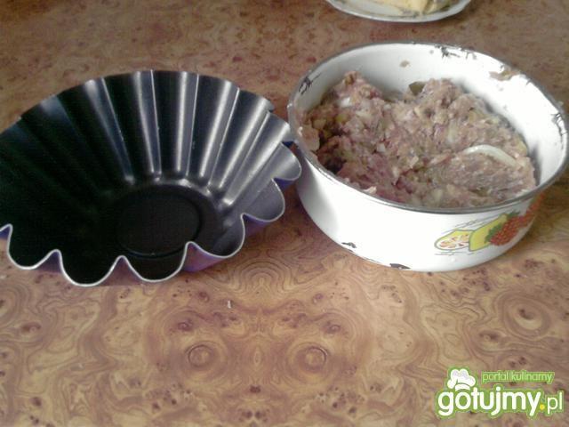 Mięsna zapiekanka