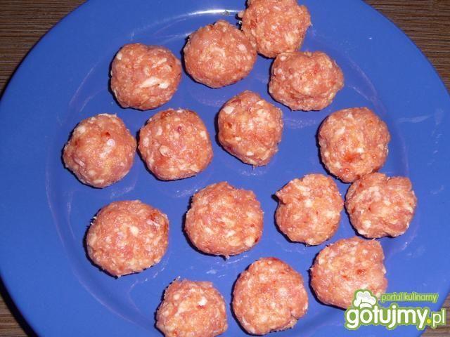 Mięsne kuleczki z harissą