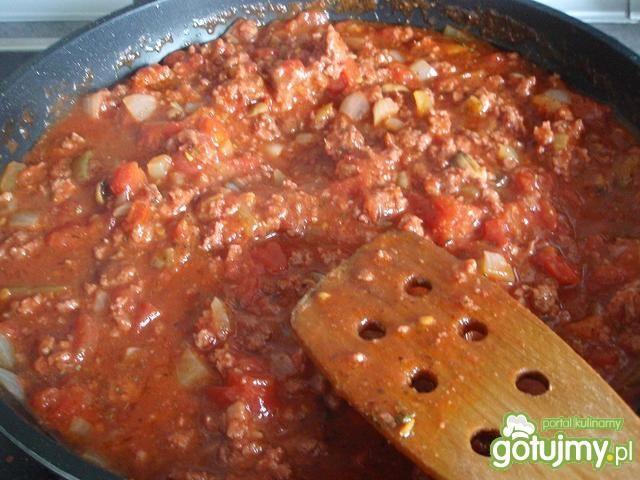 Mięso mielone z indyka w pomidorach