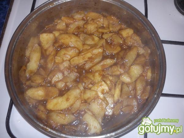 Mini jabłecznik z lodami