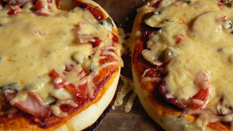 Mini pizza pełna smaku i koloru
