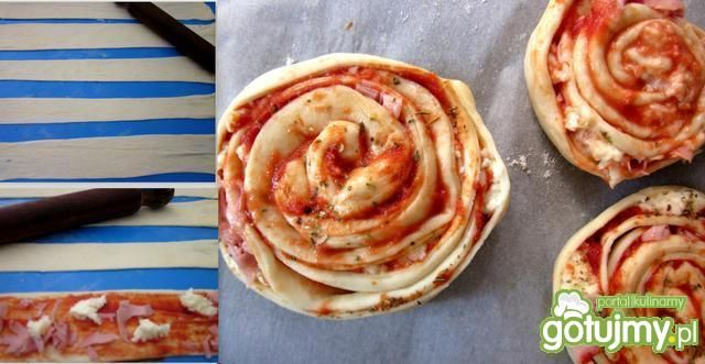 Mini pizze na patyku