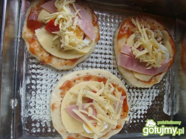 Mini pizze wg iziona