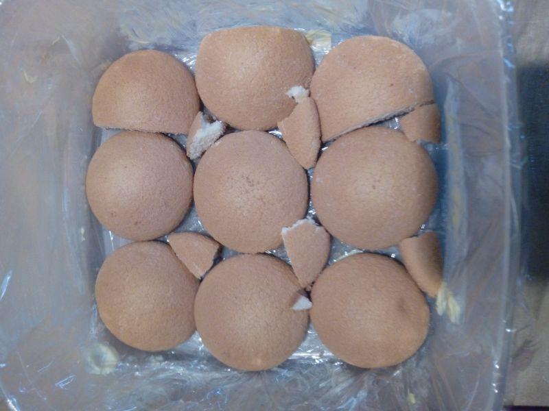 Mini serniczek gotowany z galaretką