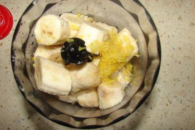 Mleczny deser bananowy