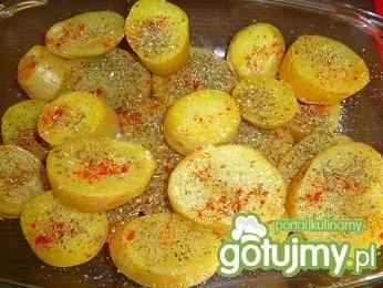 Młode ziemniaki zapiekane na szybko