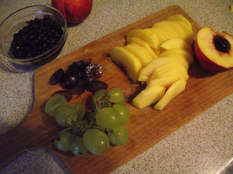 Mój przepis na gofry z owocami