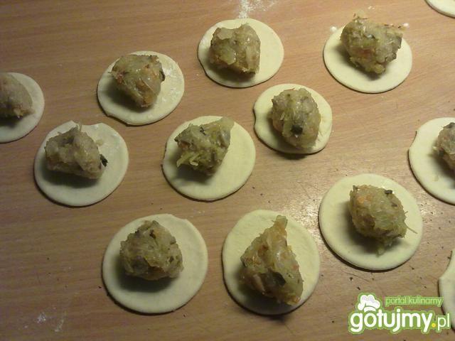 Moje pierogi z kapusty i ziemniakami