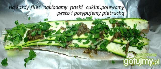 Morszczuk z Pesto w Złotku