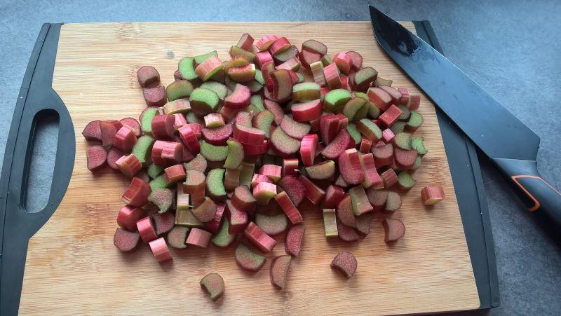 Muffinki rabarbarowo-migdałowe