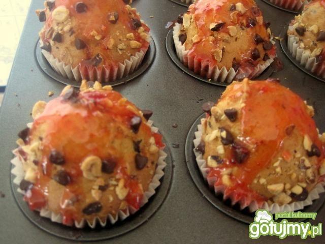 Muffinki z groszkami czekoladowymi