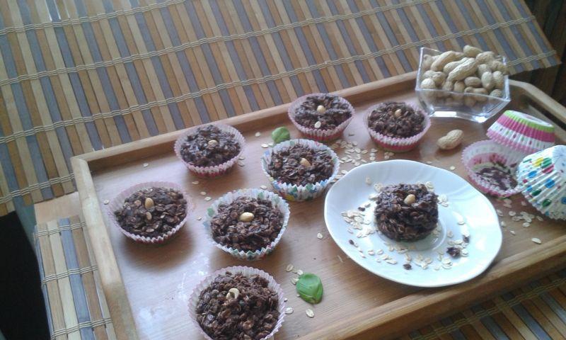 Muffinki z płatków owsianych.