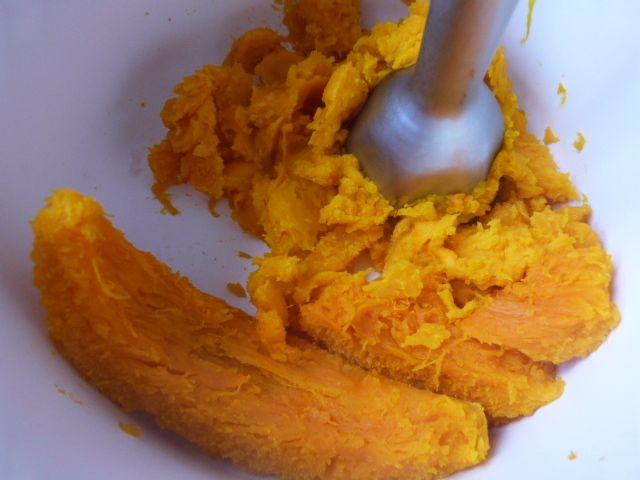 Mus z dyni o smaku pomarańczy