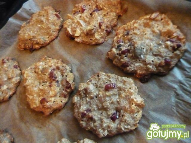 Najeżone ciasteczka owsiane