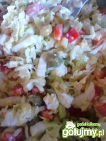 naleśniki a'la tortilla z indykiem