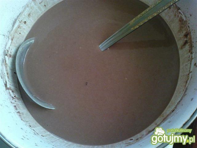 Naleśniki czekoladowe z twarogiem