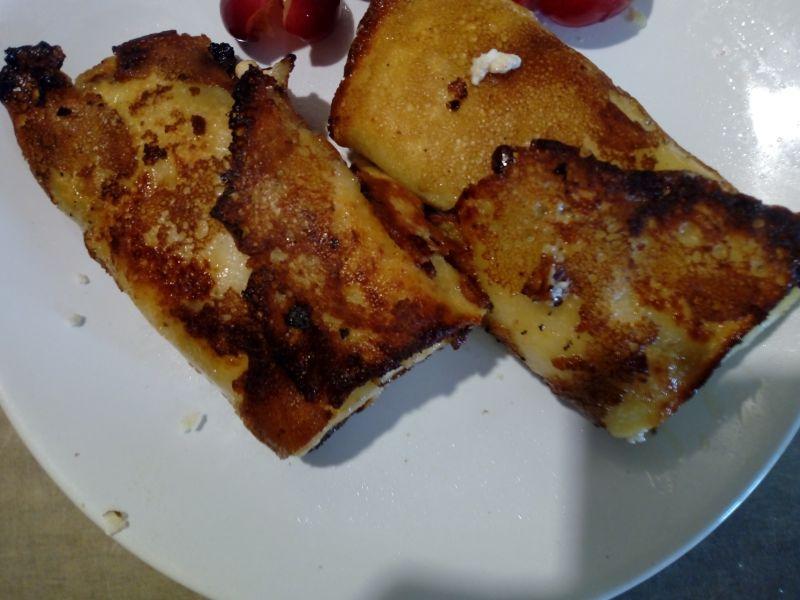 Naleśniki z serem i czereśniami