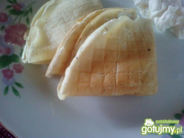 Naleśniki z serem i lodami