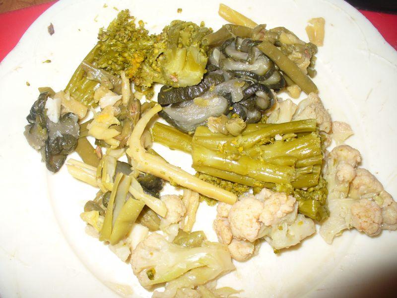 Naleśniki z warzywami podpiekane