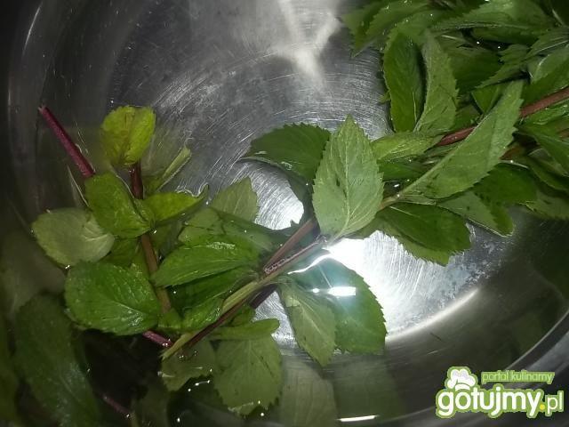 Napój miętowo-arbuzowy